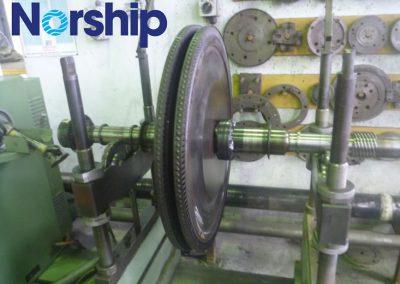 Blancing Turbine Shaft