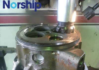 Milling Individual Cylinder Head