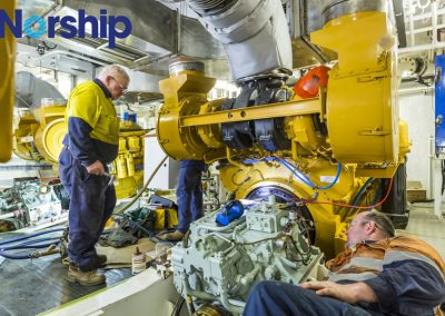 Pacific Patrol Boat Engine & Gearbox Alignment