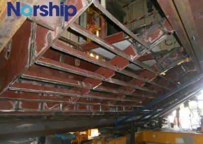 Pacific Patrol Boat Hull repair